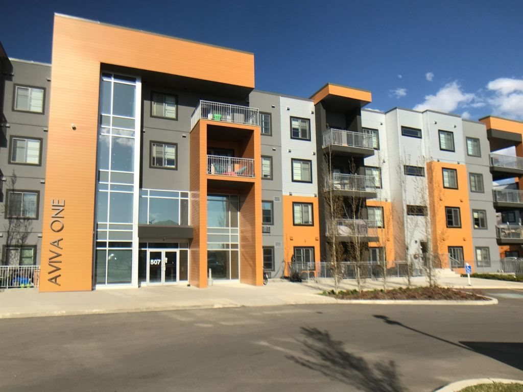 MLS® listing #E4162356 for sale located at 307 507 ALBANY Way
