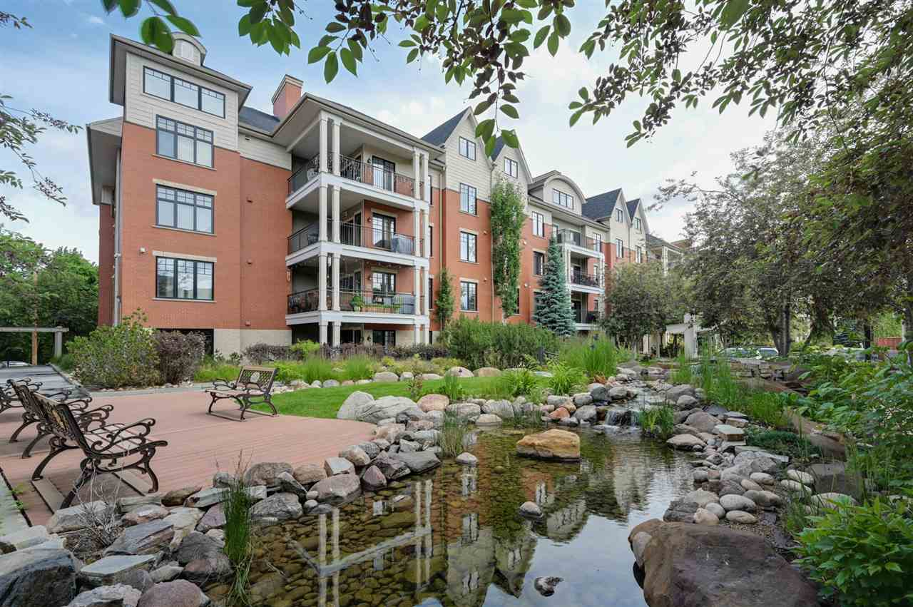 MLS® listing #E4162492 for sale located at 103 9815 96A Street