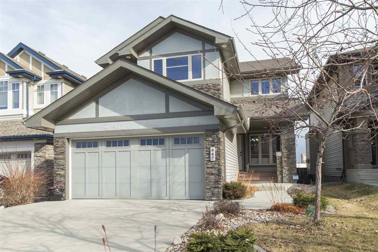MLS® listing #E4162516 for sale located at 447 AINSLIE Crescent