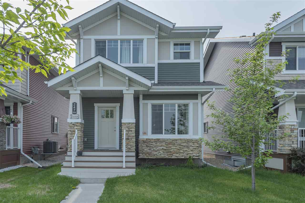 MLS® listing #E4162889 for sale located at 247 EBBERS Boulevard