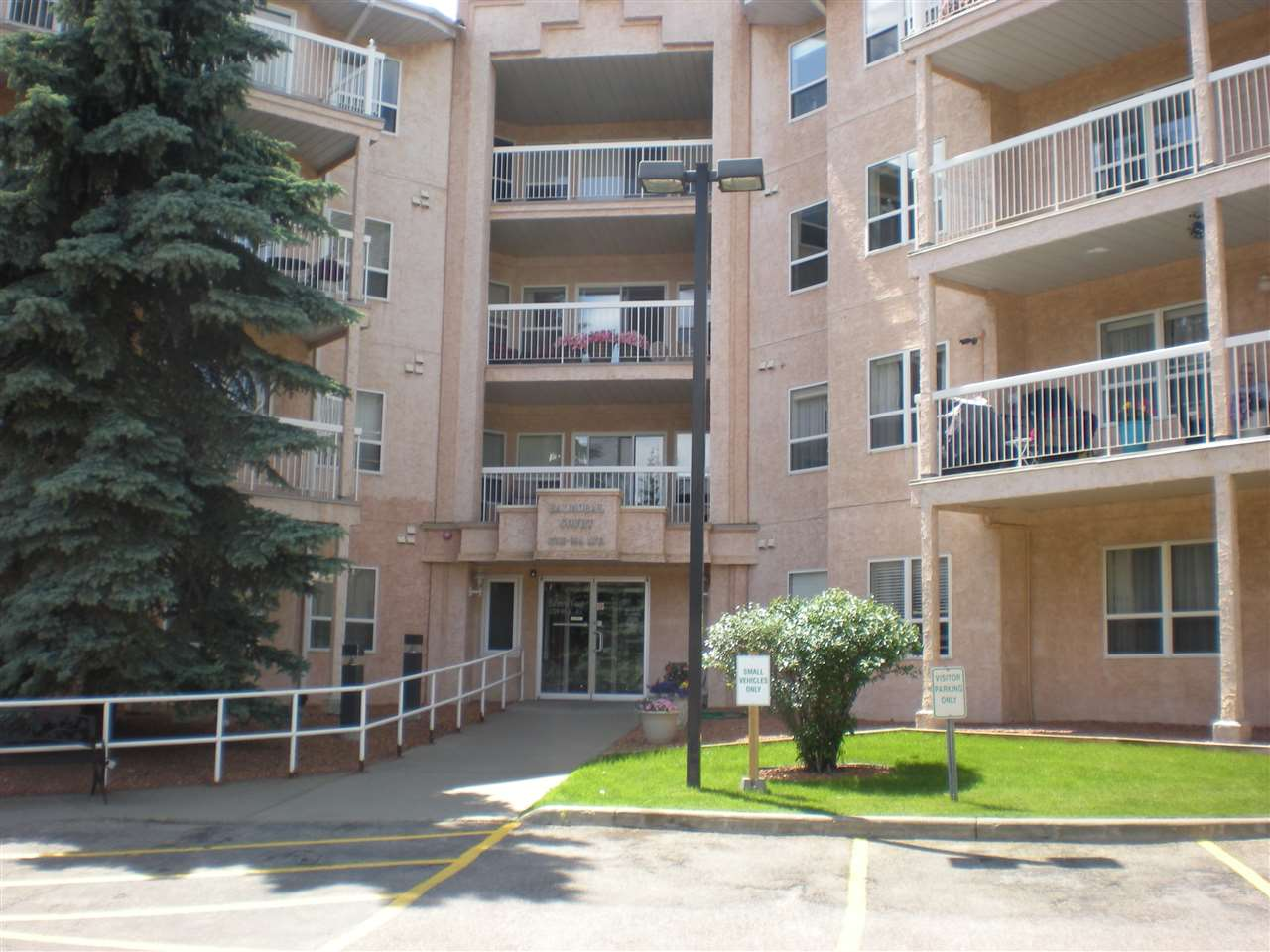 MLS® listing #E4163045 for sale located at 405 17519 98A Avenue NW