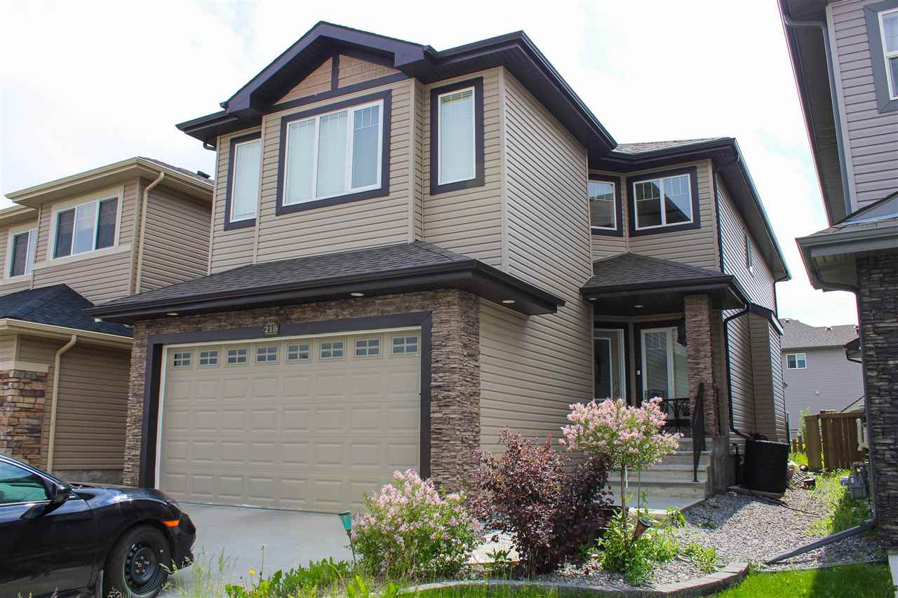 MLS® listing #E4163190 for sale located at 218 ALBANY Drive