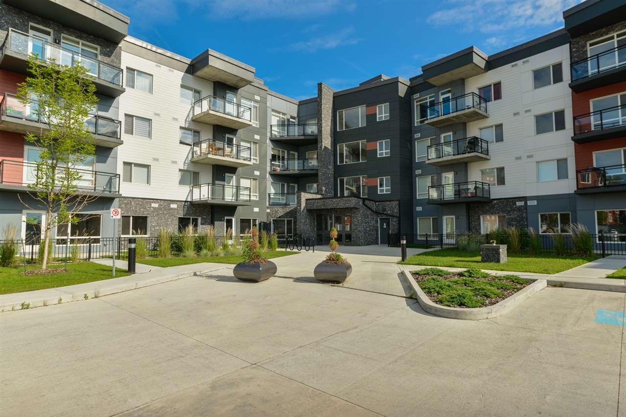 MLS® listing #E4163453 for sale located at 203 7508 GETTY Gate
