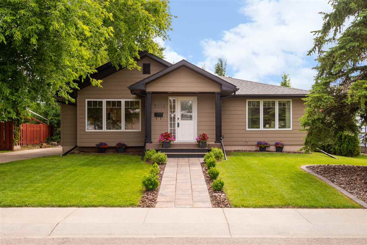 MLS® listing #E4164522 for sale located at 7313 155 Street