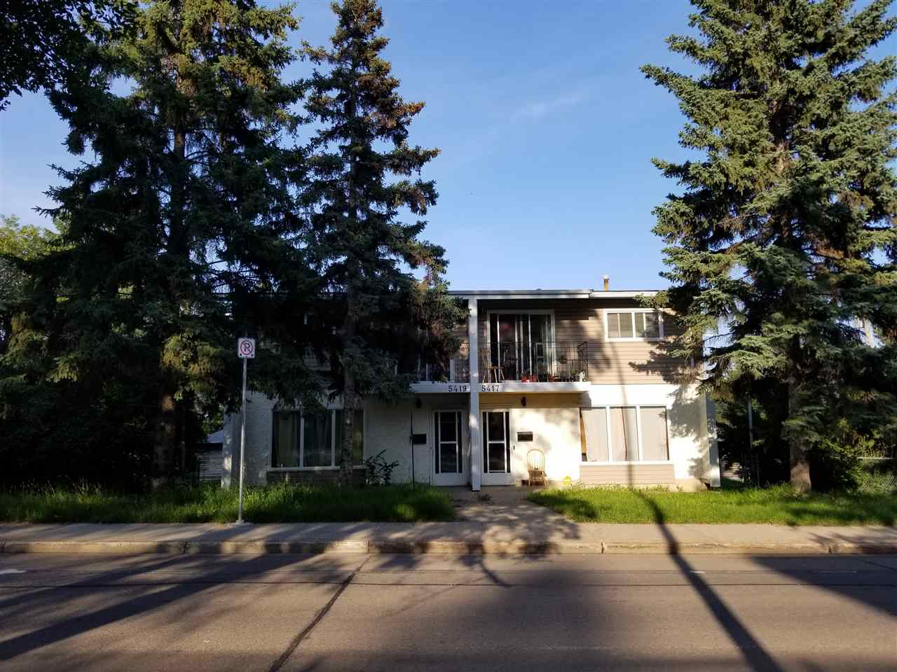 MLS® listing #E4165082 for sale located at 5417 & 5419 106 Street