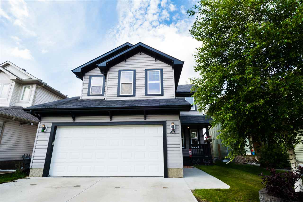 MLS® listing #E4165126 for sale located at 65 BOXWOOD Bend