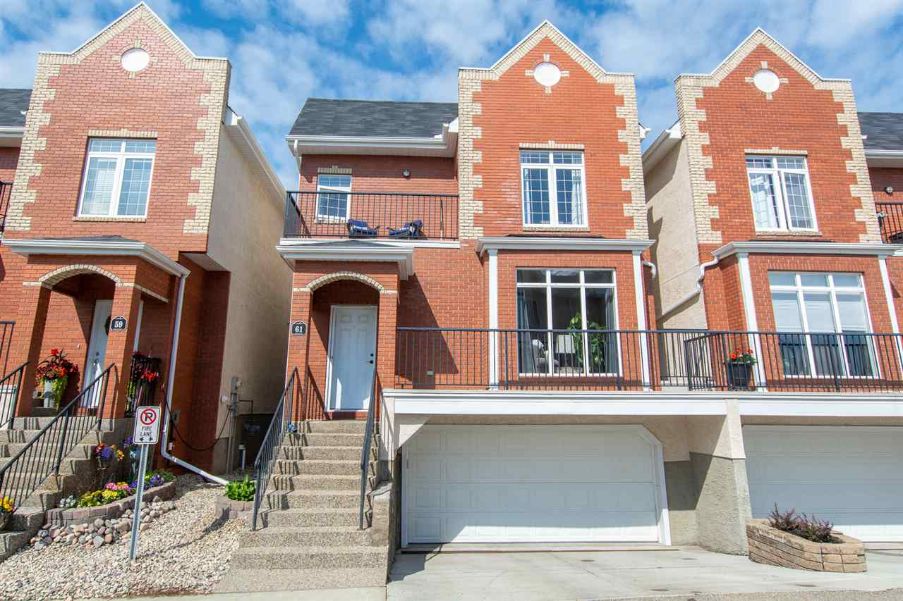 MLS® listing #E4165209 for sale located at 61 8403 164 Avenue