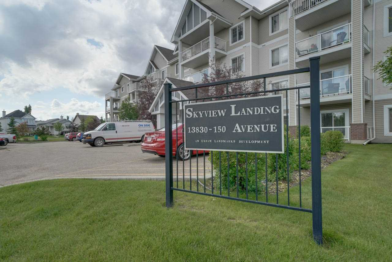 MLS® listing #E4165323 for sale located at 410 13830 150 Avenue