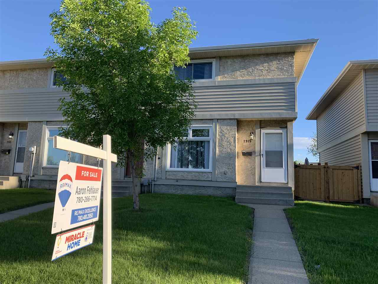 MLS® listing #E4165451 for sale located at 2915 151 Avenue