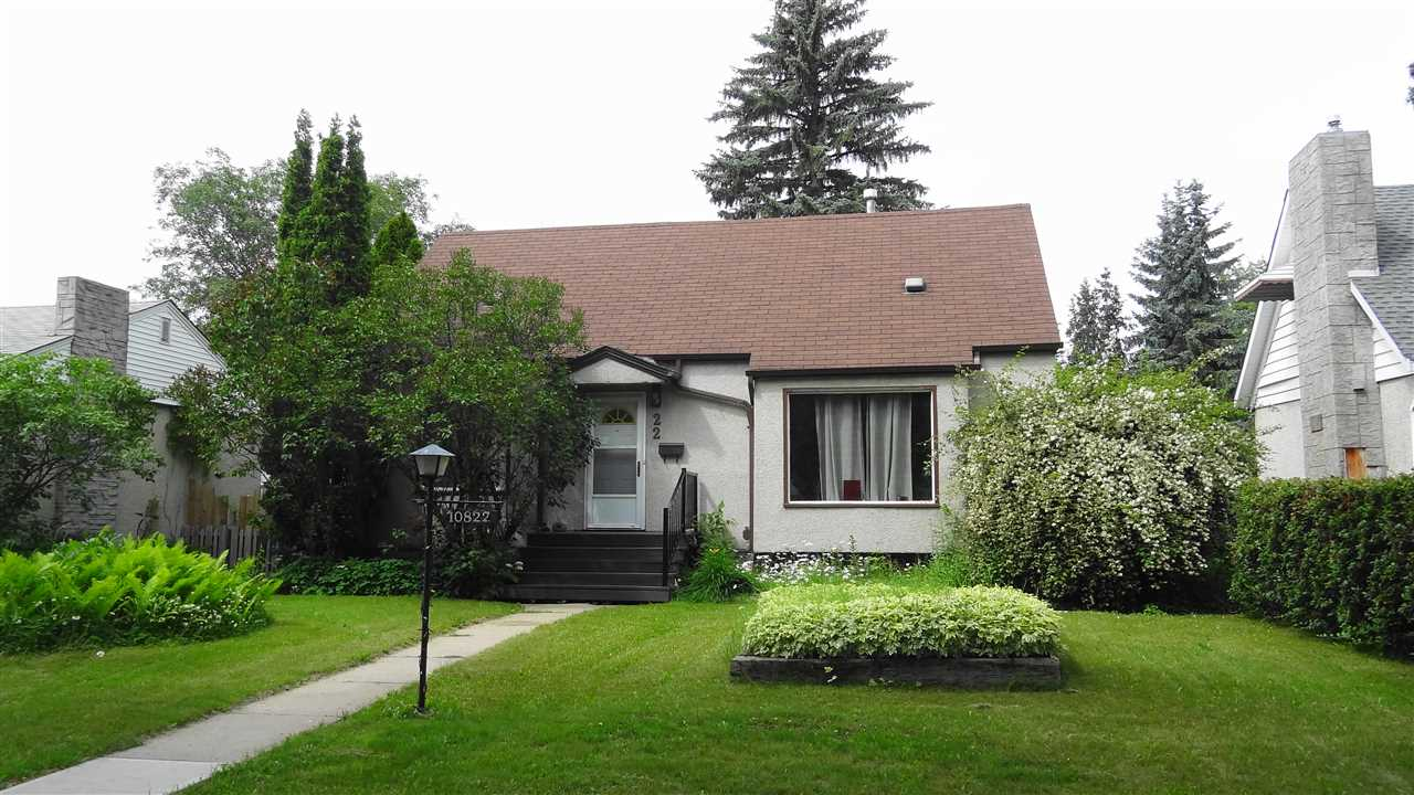 MLS® listing #E4165506 for sale located at 10822 138 Street