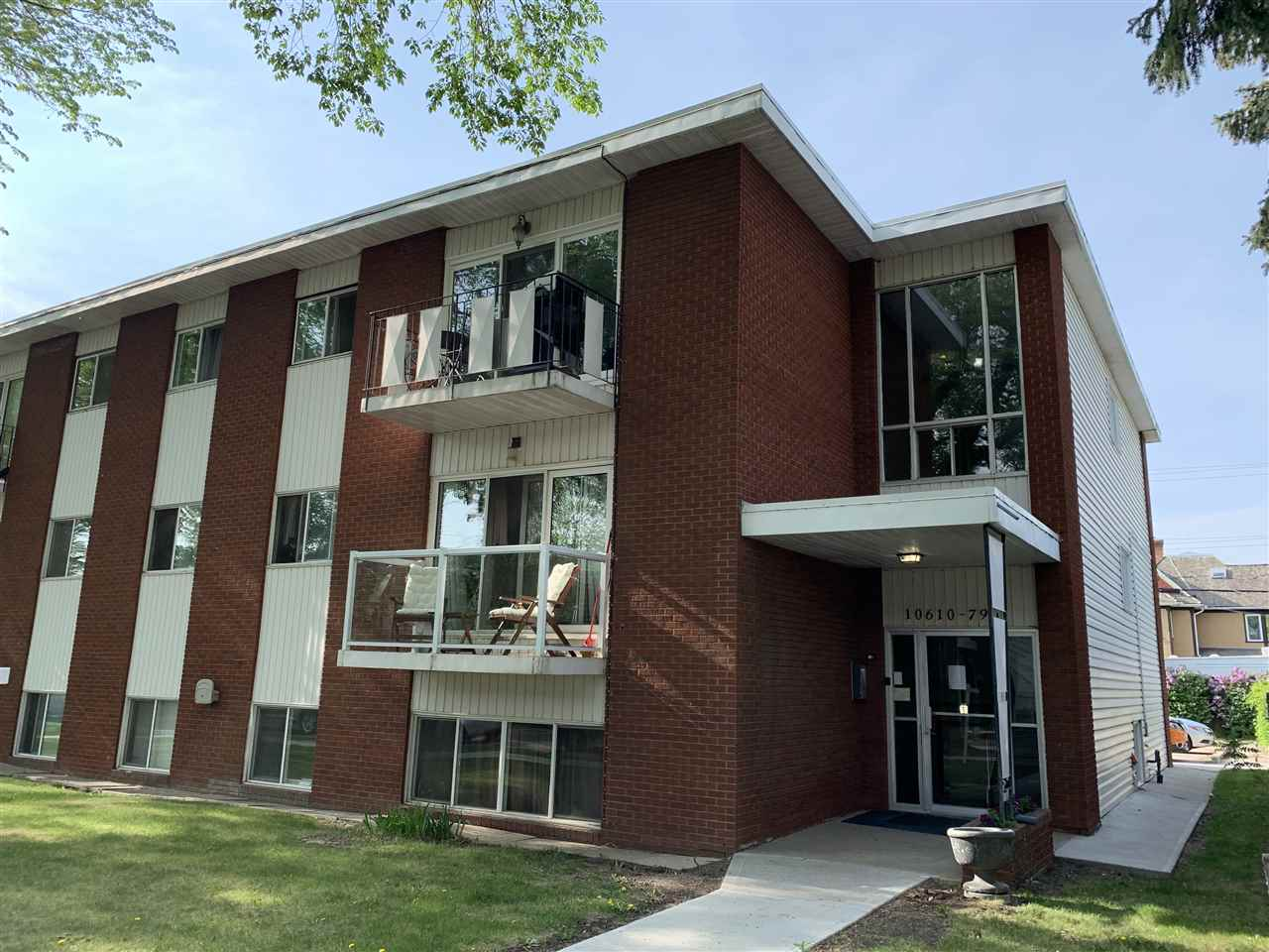 MLS® listing #E4165698 for sale located at 101 10610 79 Avenue