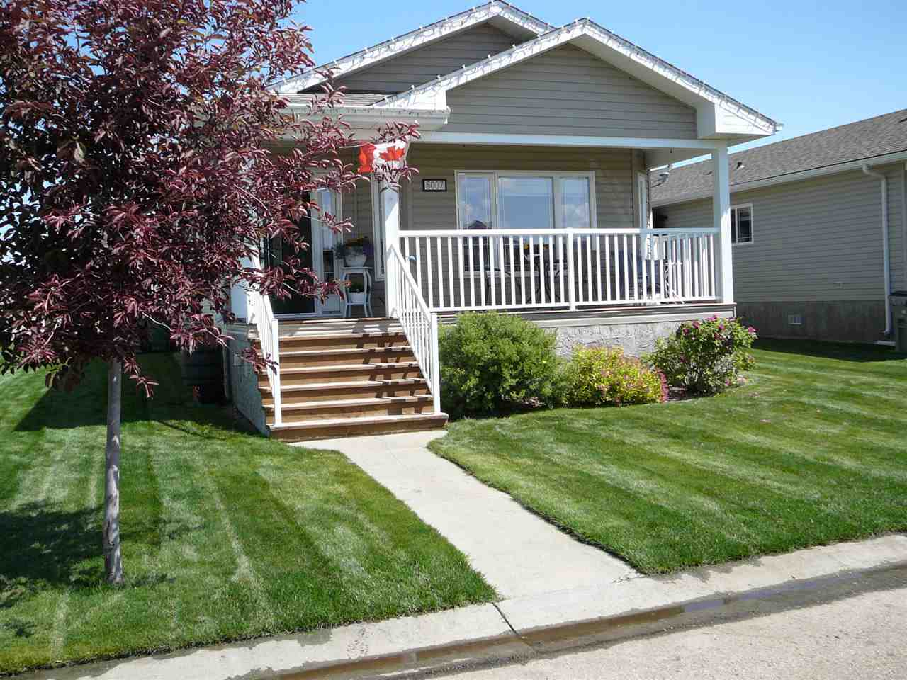 MLS® listing #E4165890 for sale located at 5007 ASPEN Place