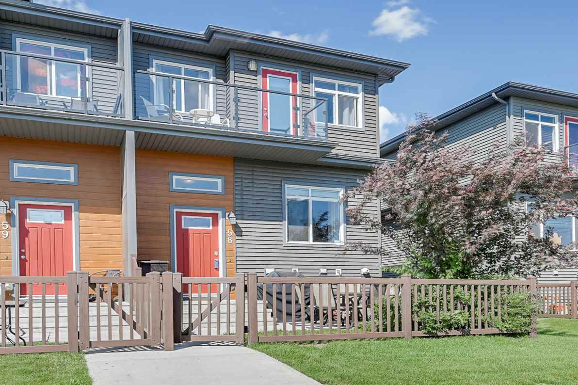 MLS® listing #E4166011 for sale located at 58 7503 GETTY Gate