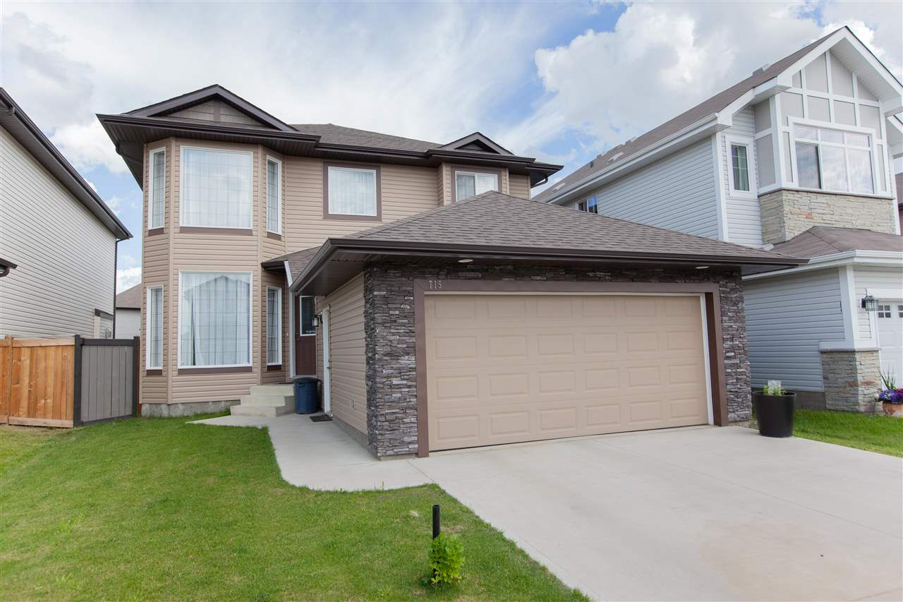 MLS® listing #E4166407 for sale located at 715 179 Street