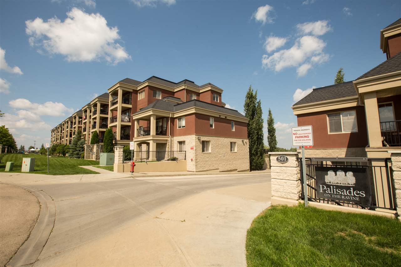 MLS® listing #E4166712 for sale located at 118 500 PALISADES Way