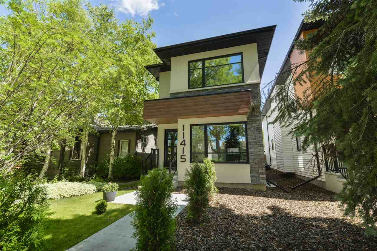 MLS® listing #E4167052 for sale located at 11415 126 Street