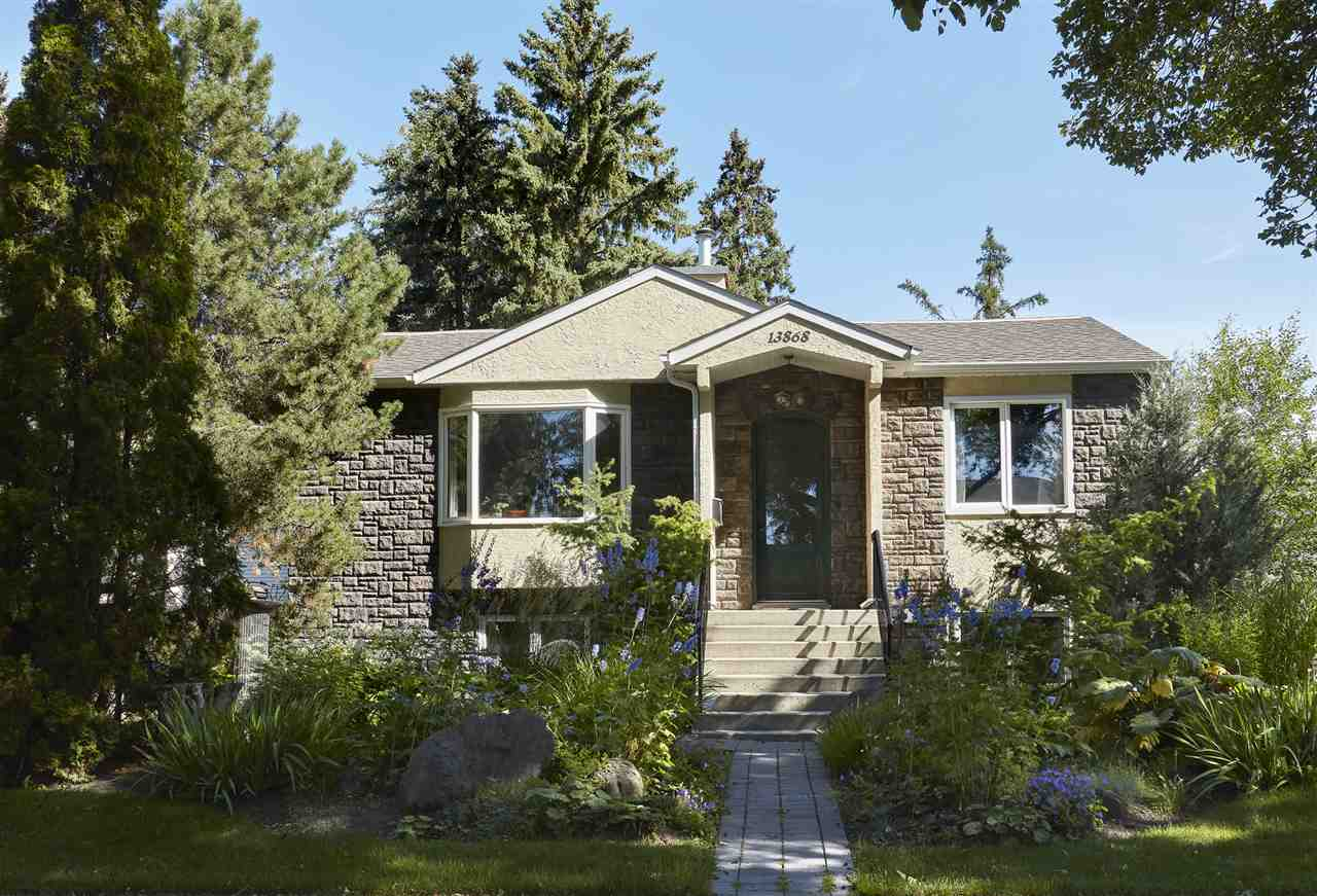 MLS® listing #E4167525 for sale located at 13868 110A Avenue