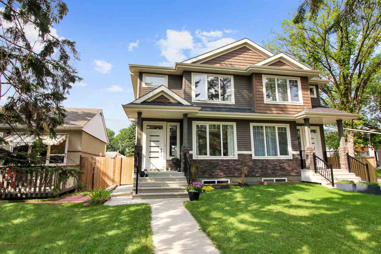 MLS® listing #E4168096 for sale located at 7606 88 Avenue NW