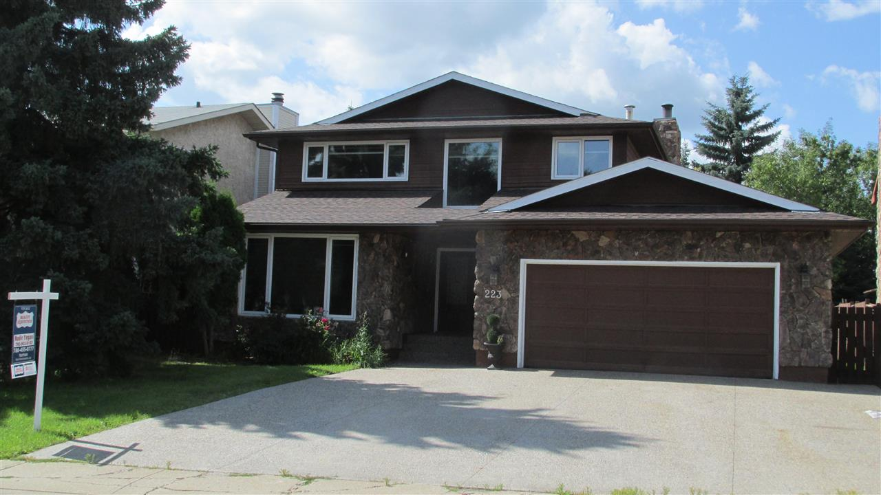 MLS® listing #E4168210 for sale located at 223 Gariepy Crescent