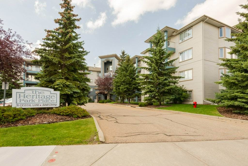 MLS® listing #E4168279 for sale located at 409 70 CRYSTAL Lane