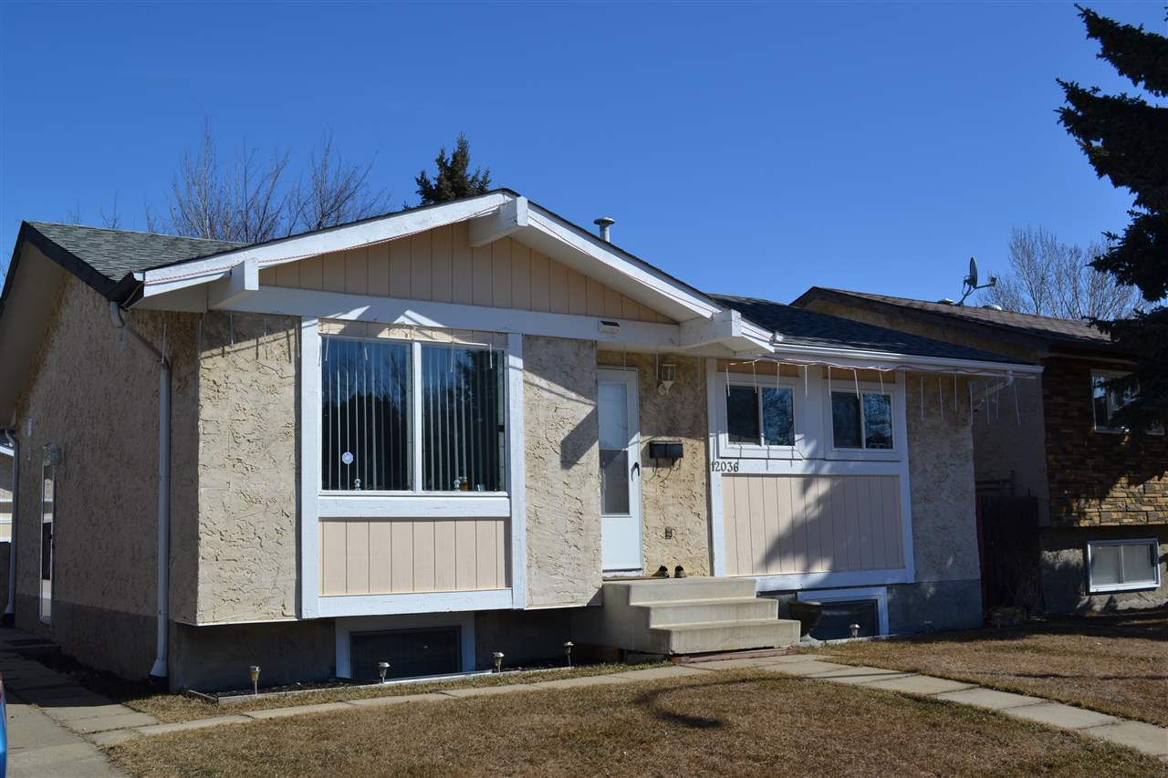 MLS® listing #E4168329 for sale located at 12036 143 Avenue