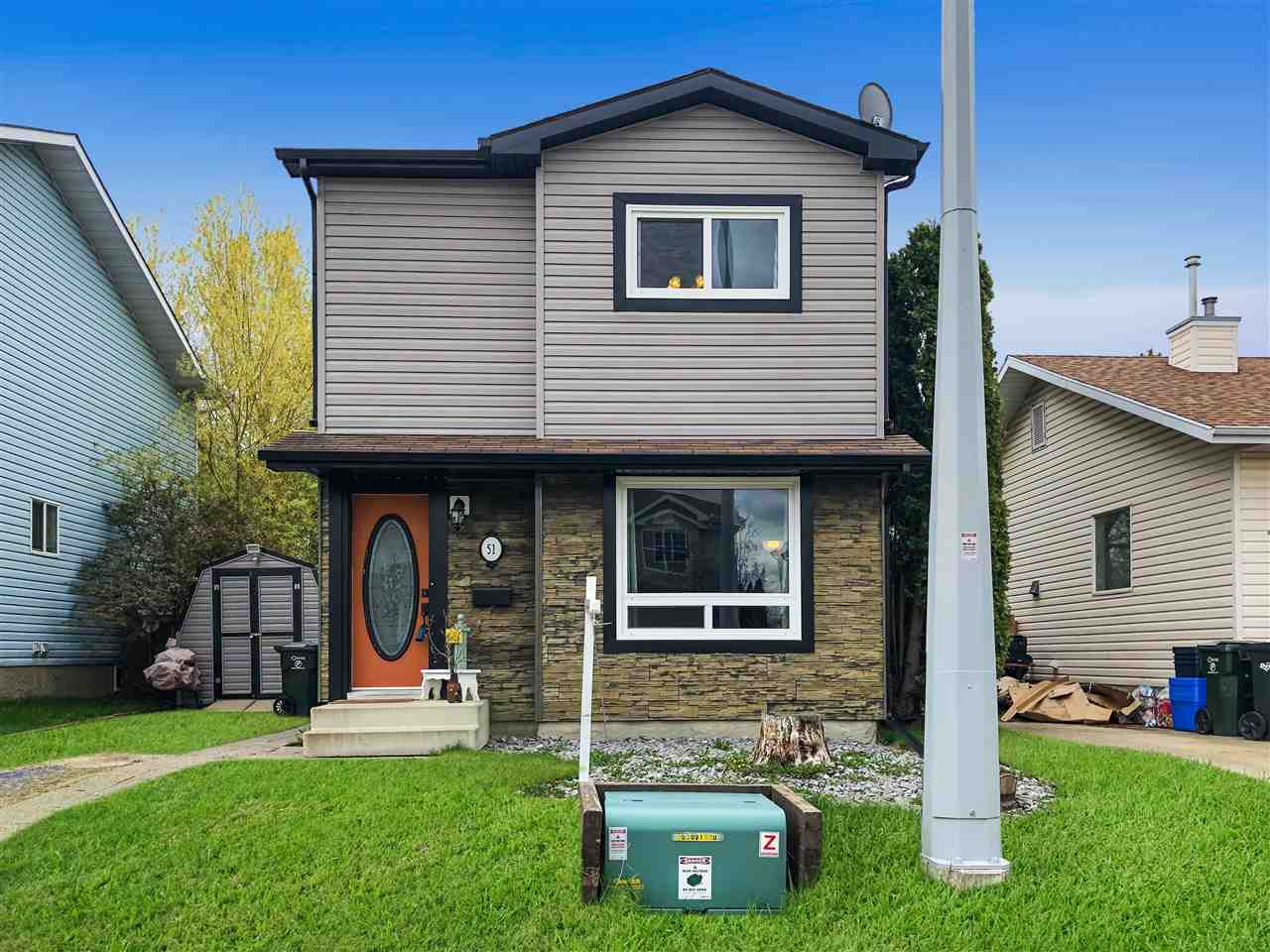 MLS® listing #E4168355 for sale located at 51 GOLD EYE Drive