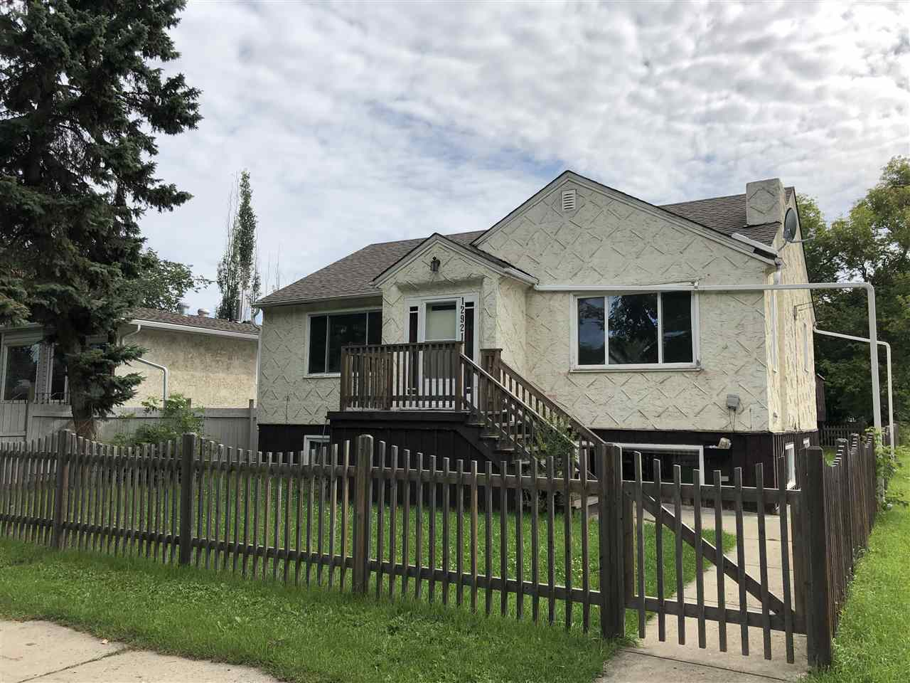 MLS® listing #E4168517 for sale located at 12921 117 Street