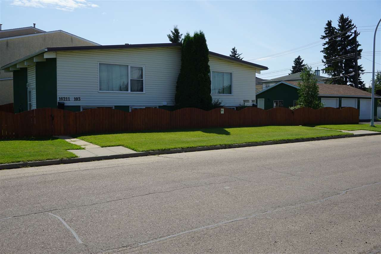 MLS® listing #E4168698 for sale located at 16221 103 Avenue