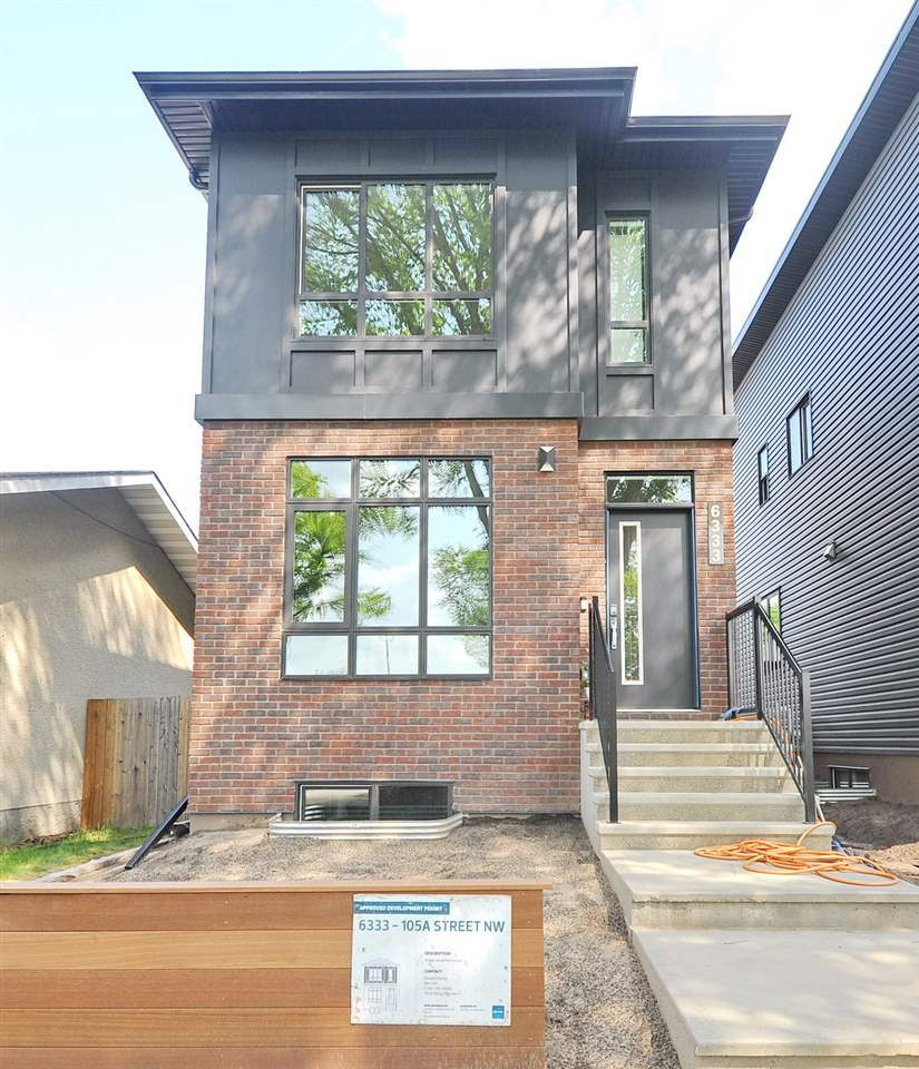 MLS® listing #E4168816 for sale located at 6333 105a Street