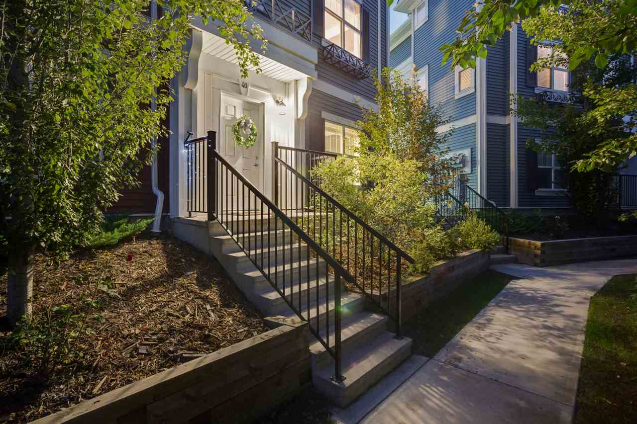 MLS® listing #E4168834 for sale located at 40 8315 180 Avenue