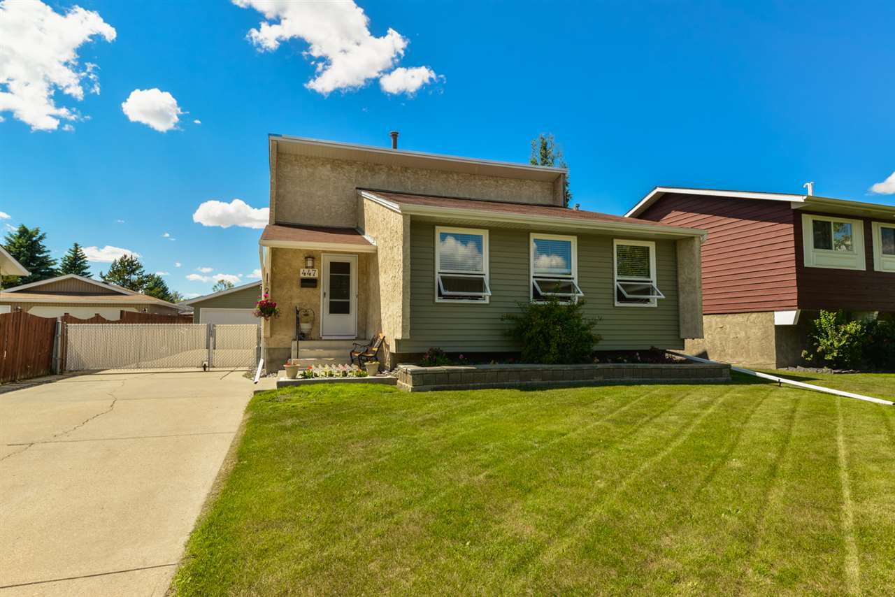 MLS® listing #E4168958 for sale located at 447 Huffman Crescent