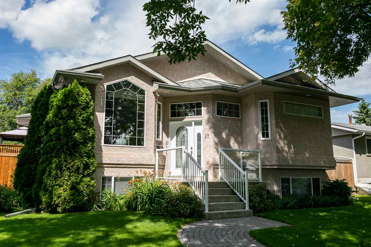 MLS® listing #E4169055 for sale located at 17 MURAL Crescent