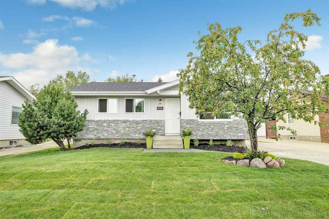 MLS® listing #E4169088 for sale located at 16724 104 Street
