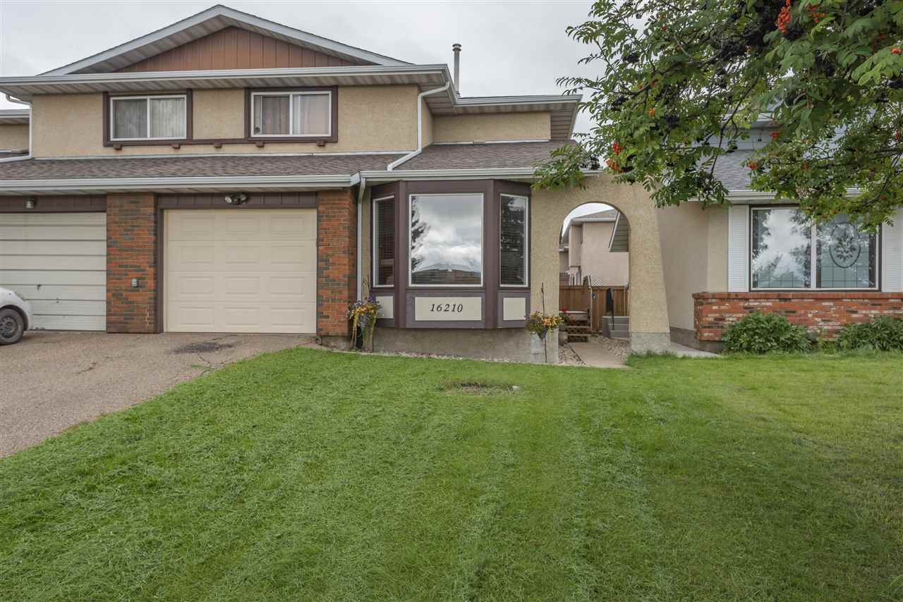 MLS® listing #E4169235 for sale located at 16210 109 Street