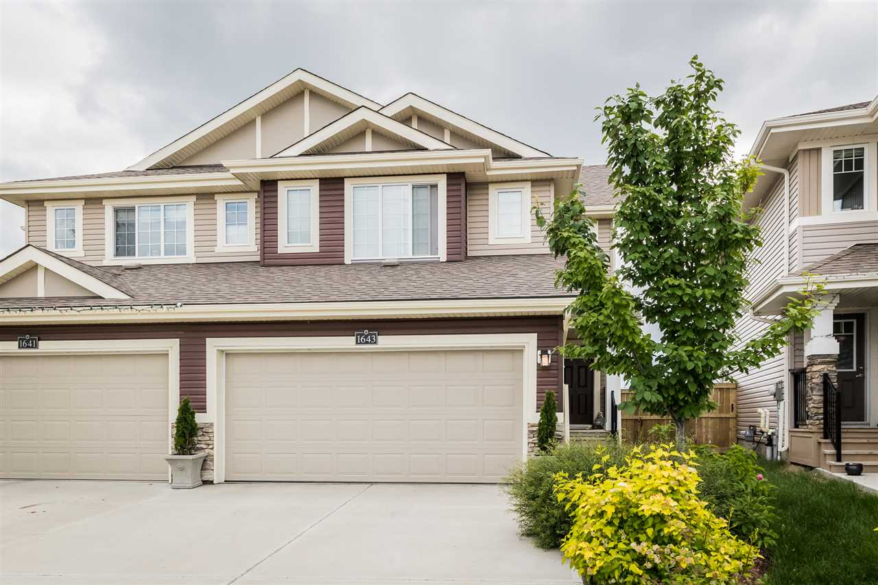 MLS® listing #E4169384 for sale located at 1643 HAMMOND Crescent