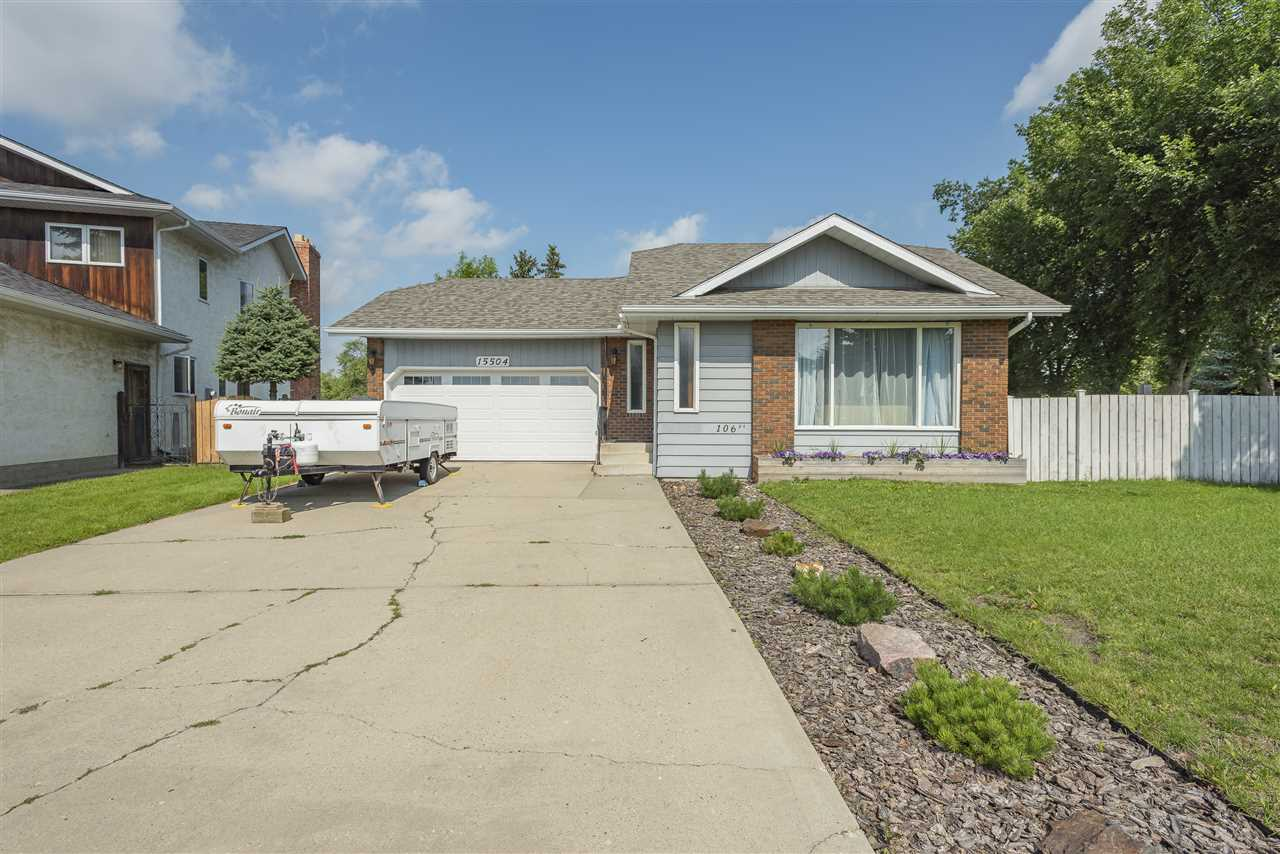 MLS® listing #E4169424 for sale located at 15504 106 Street