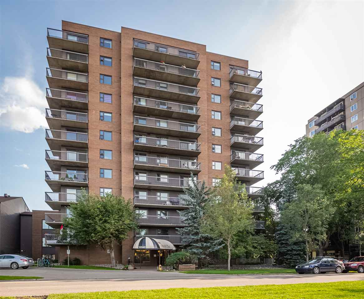 MLS® listing #E4169870 for sale located at 403 10545 SASKATCHEWAN Drive