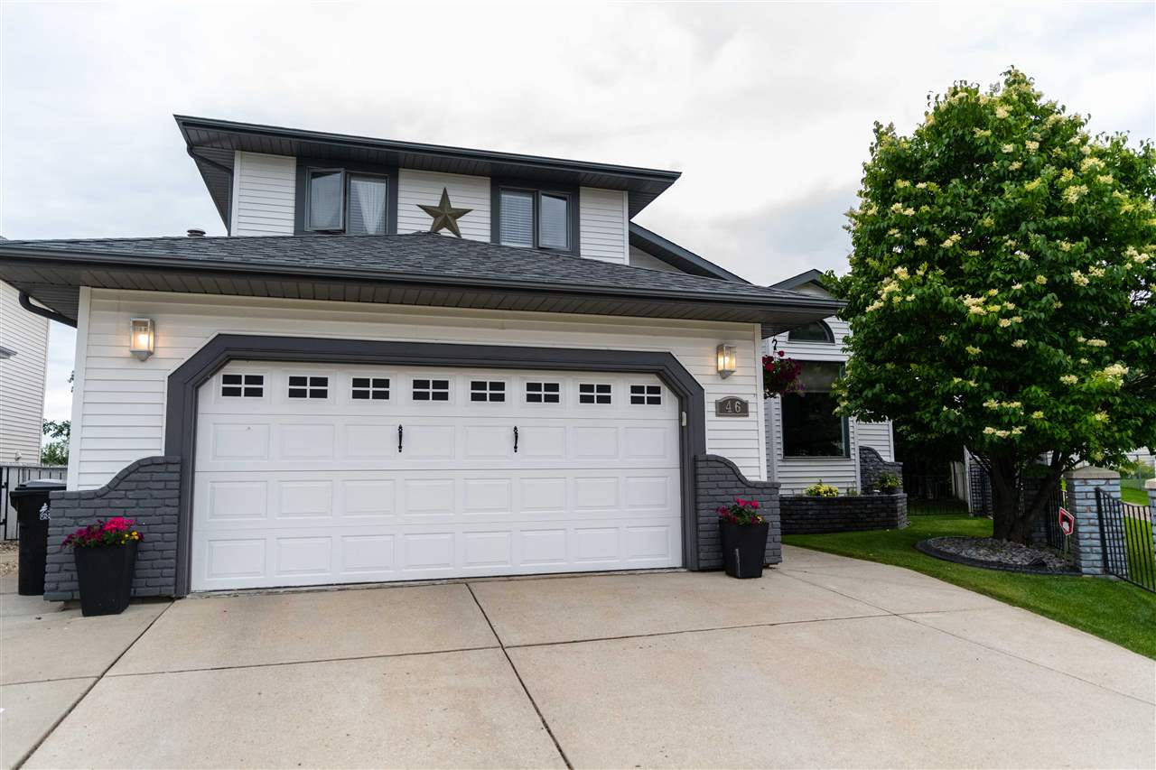 MLS® listing #E4170232 for sale located at 46 WOODSIDE Crescent