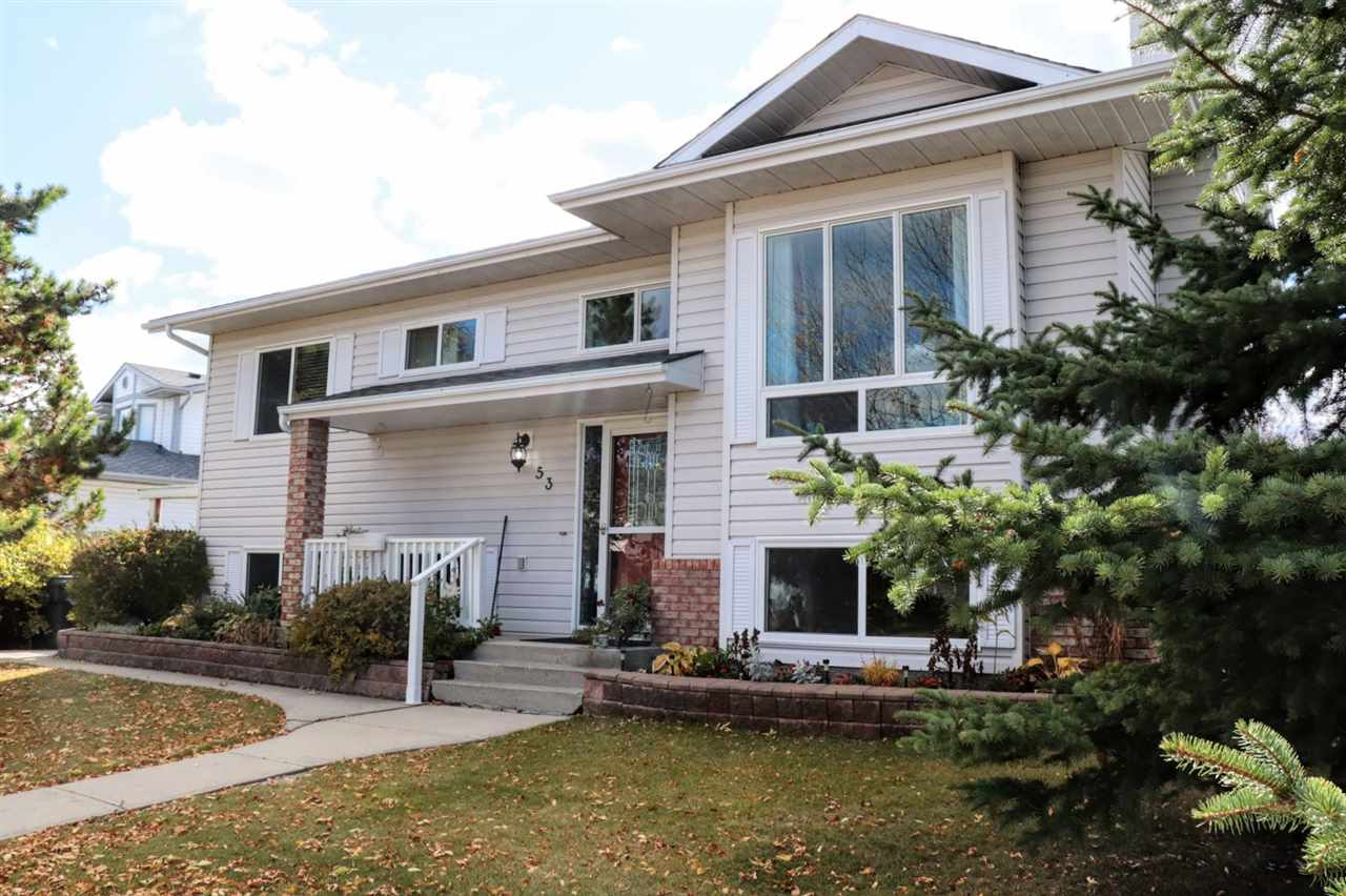 MLS® listing #E4170262 for sale located at 53 Cimmaron Way