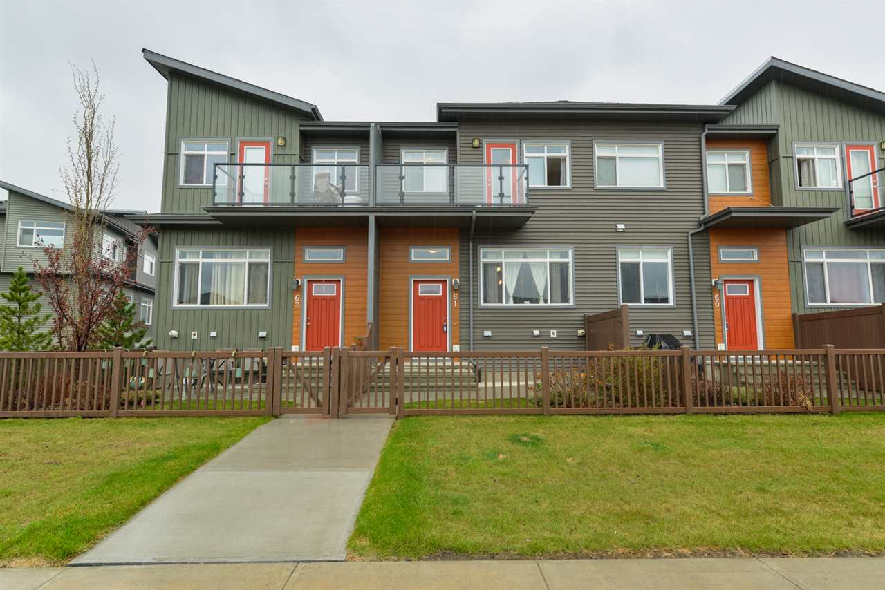 MLS® listing #E4170440 for sale located at 61 7503 GETTY Gate