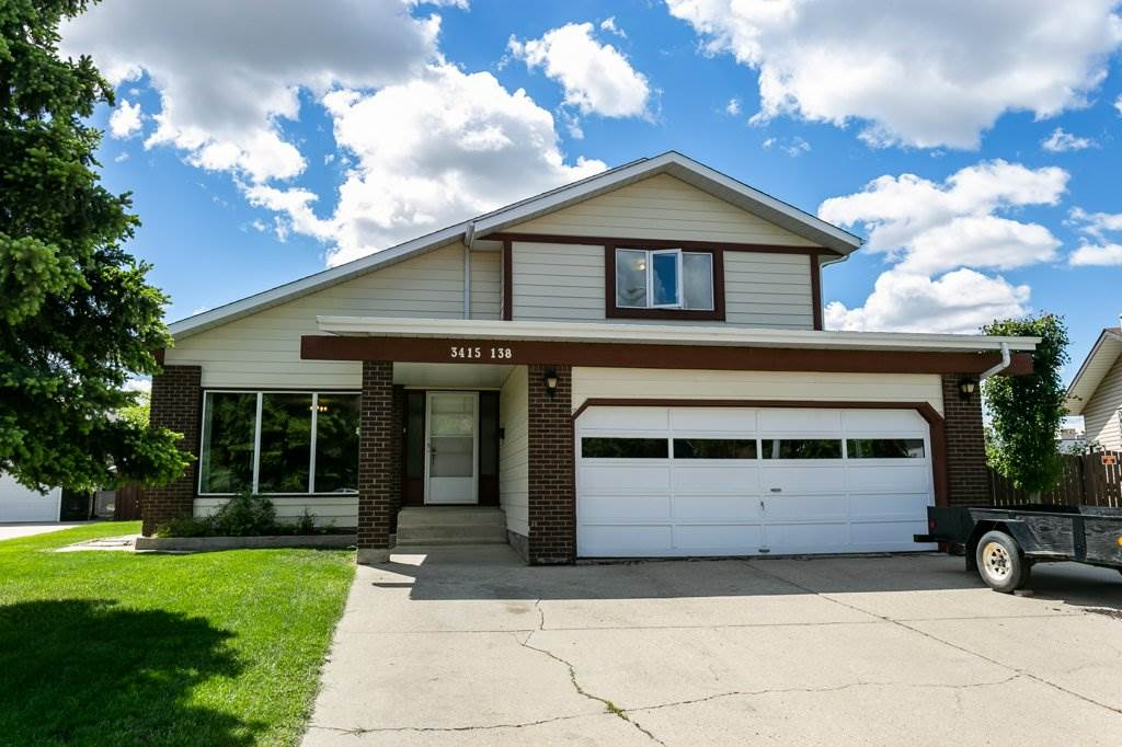 MLS® listing #E4170472 for sale located at 3415 138 Avenue