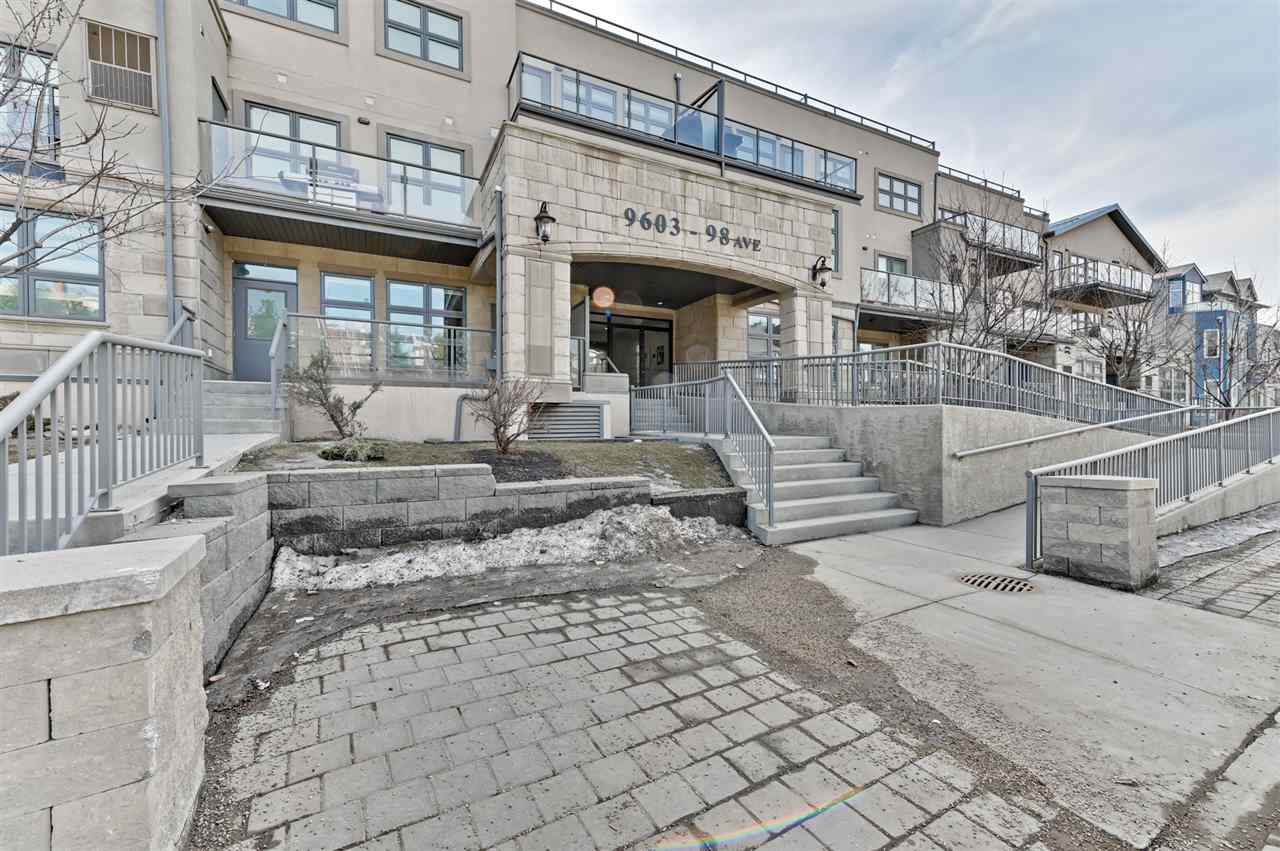MLS® listing #E4170621 for sale located at 309 9603 98 Avenue