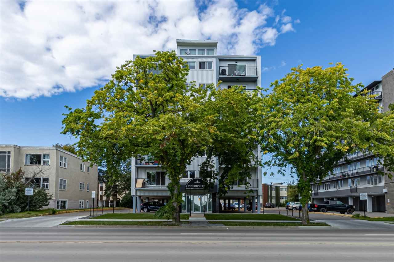 MLS® listing #E4170992 for sale located at 603 8310 JASPER Avenue