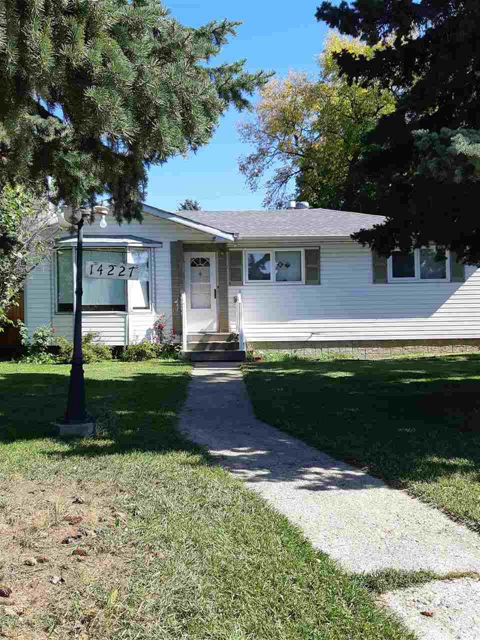 MLS® listing #E4172258 for sale located at 14227 58 Street NW