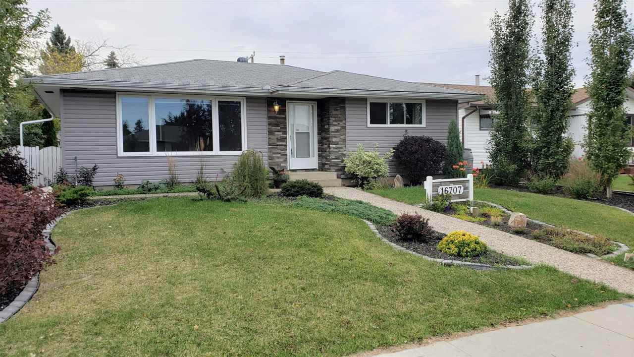 MLS® listing #E4172805 for sale located at 16707 94 Avenue