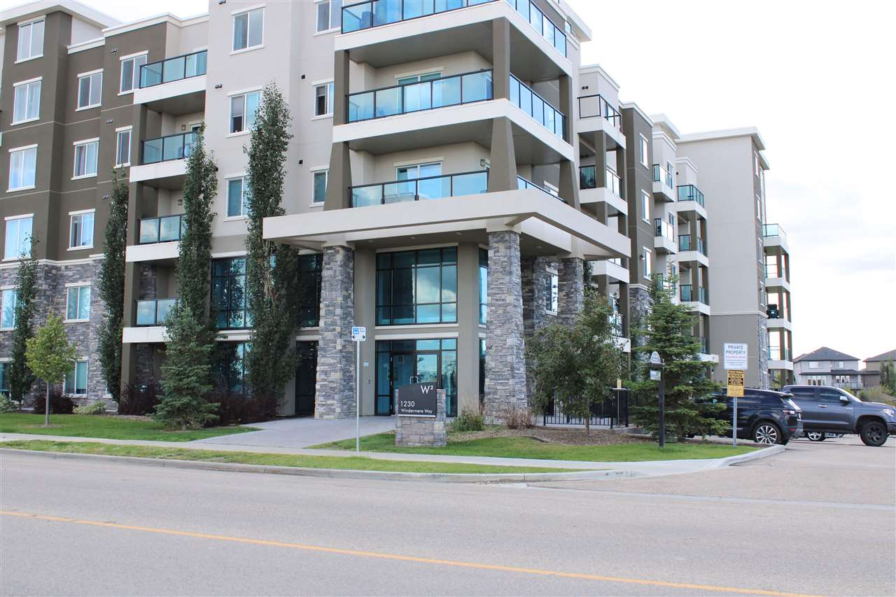 MLS® listing #E4172923 for sale located at 502 1230 WINDERMERE Way