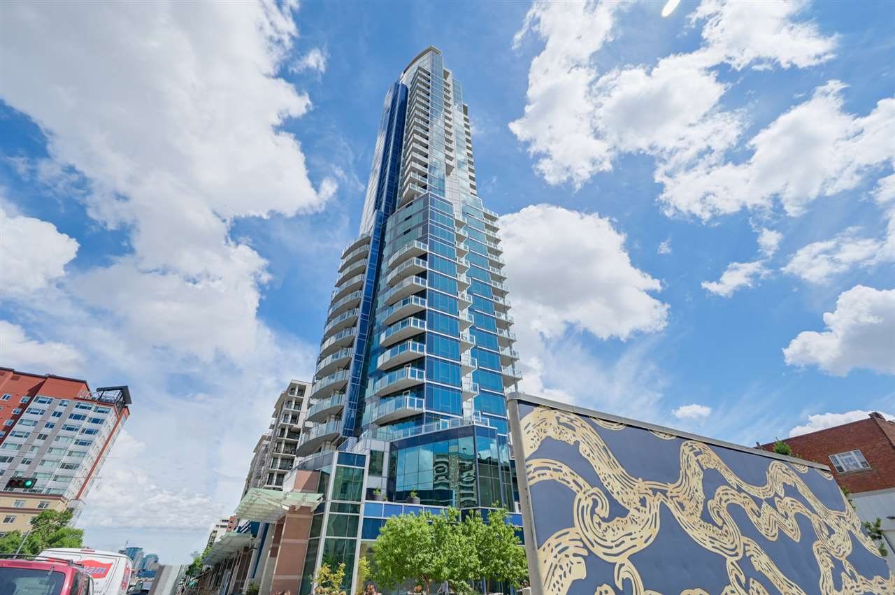 MLS® listing #E4172925 for sale located at 2603 11969 Jasper Avenue