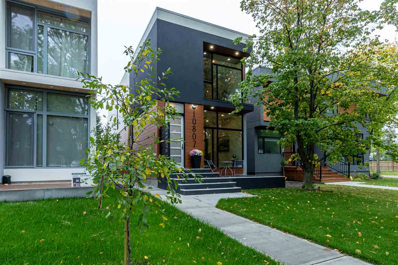 MLS® listing #E4173414 for sale located at 10807 128 Street NW