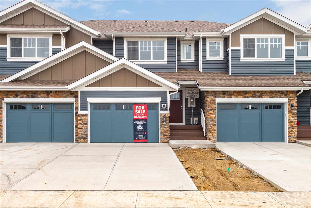 MLS® listing #E4173724 for sale located at 563 Ebbers Way NW