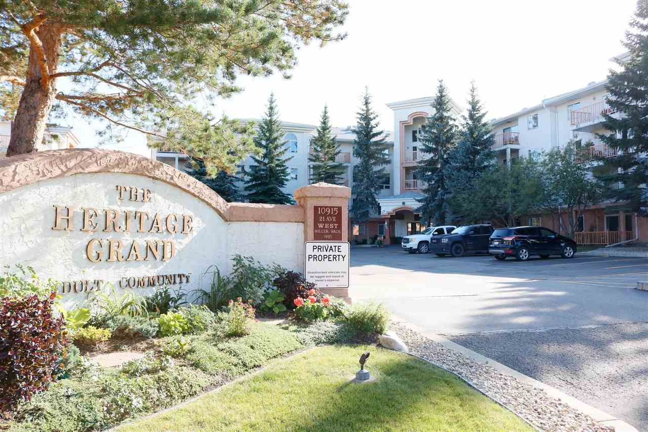 MLS® listing #E4173824 for sale located at 212 10915 21 Avenue